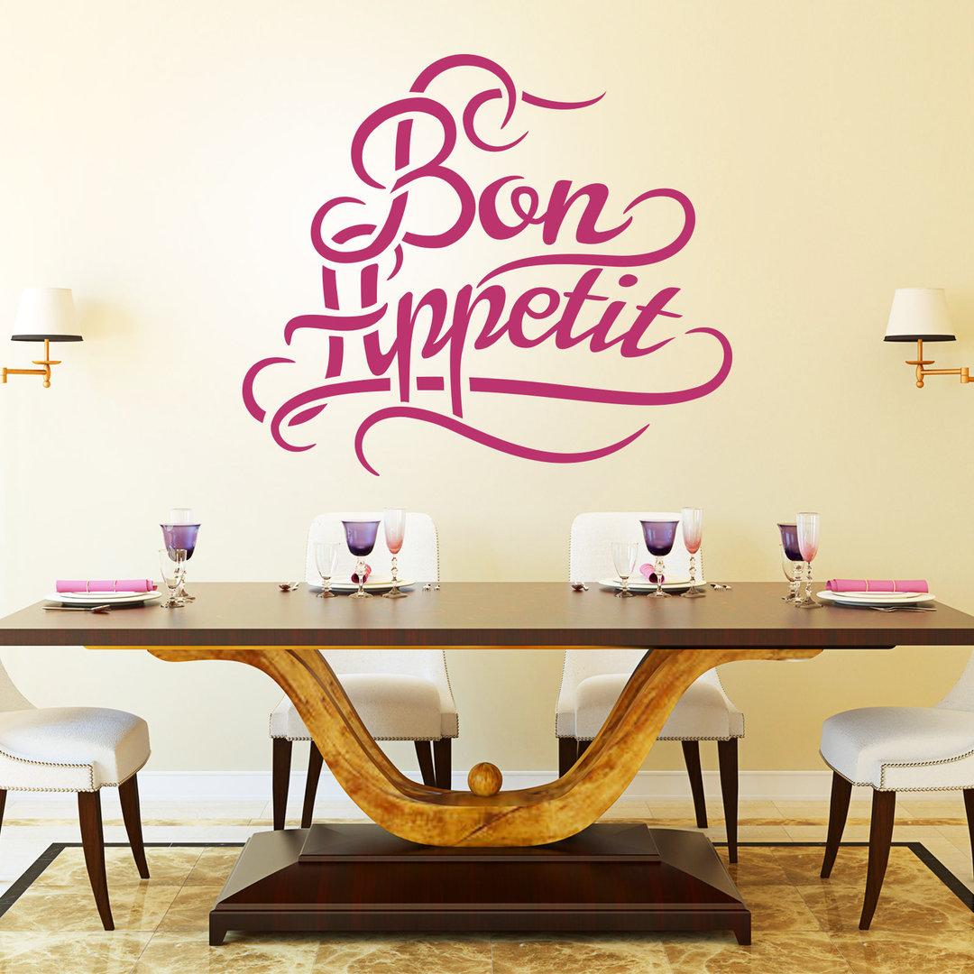 Wandtattoo Bon Appetit | Guten Appetit