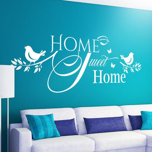 wandtattoos tolle spr che motive f r wohnzimmer schlafzimmer. Black Bedroom Furniture Sets. Home Design Ideas