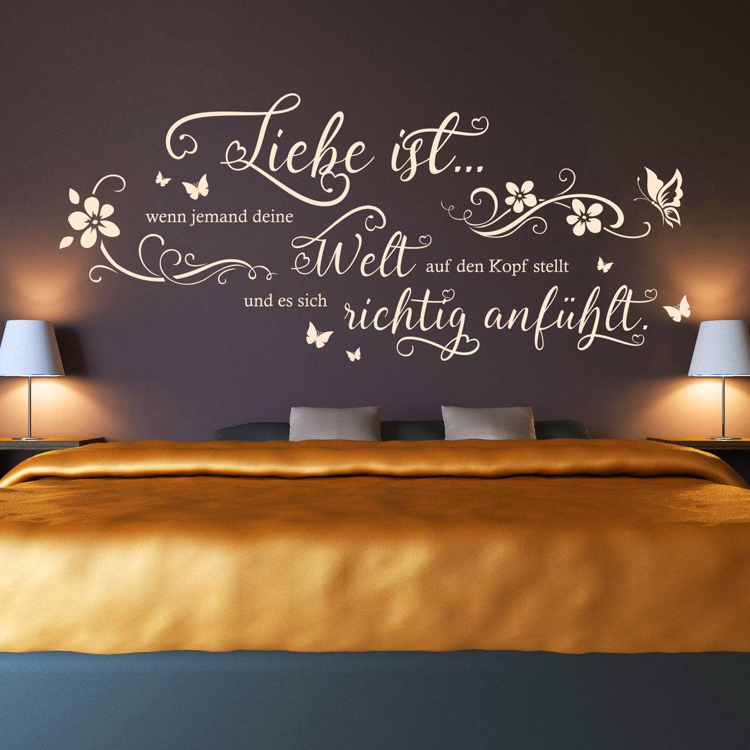 Wandtattoos - Tolle Sprüche & Motive für Wohnzimmer, Schlafzimmer