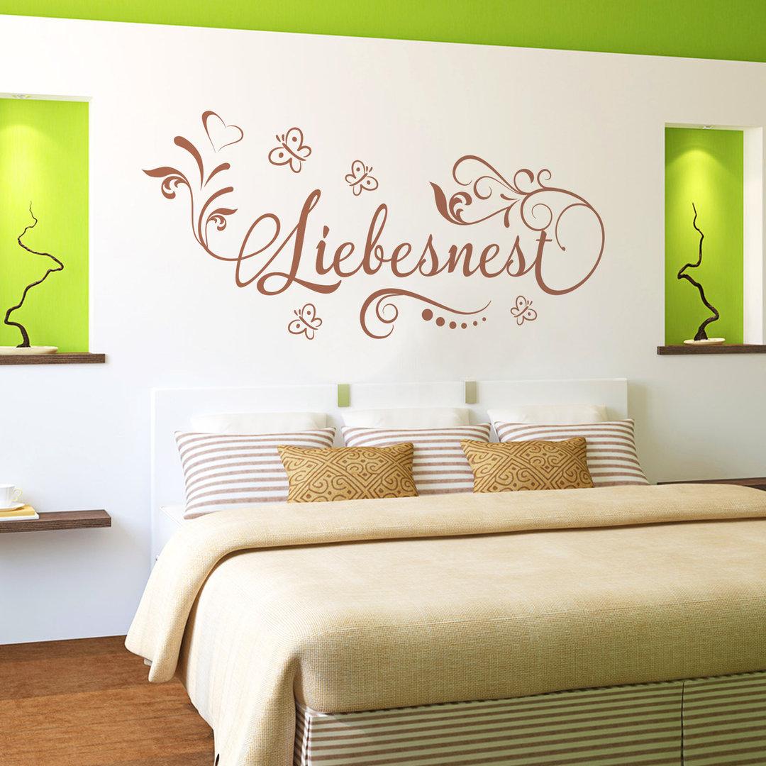 Wandtattoo Liebesnest Tolle Dekoidee Fur Schlafzimmer Von Paaren