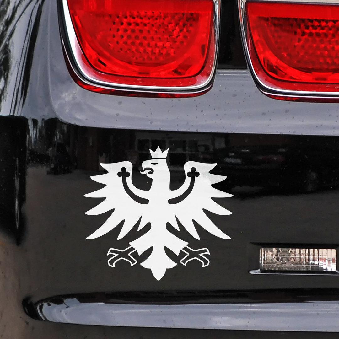 Auto Aufkleber Tiroler Adler