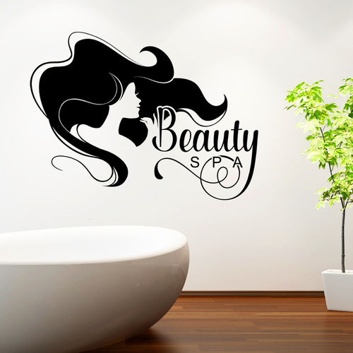 Wandtattoo Beauty Spa | Wellness Lounge