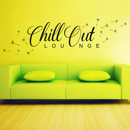 Wandtattoo Chill Out Lounge