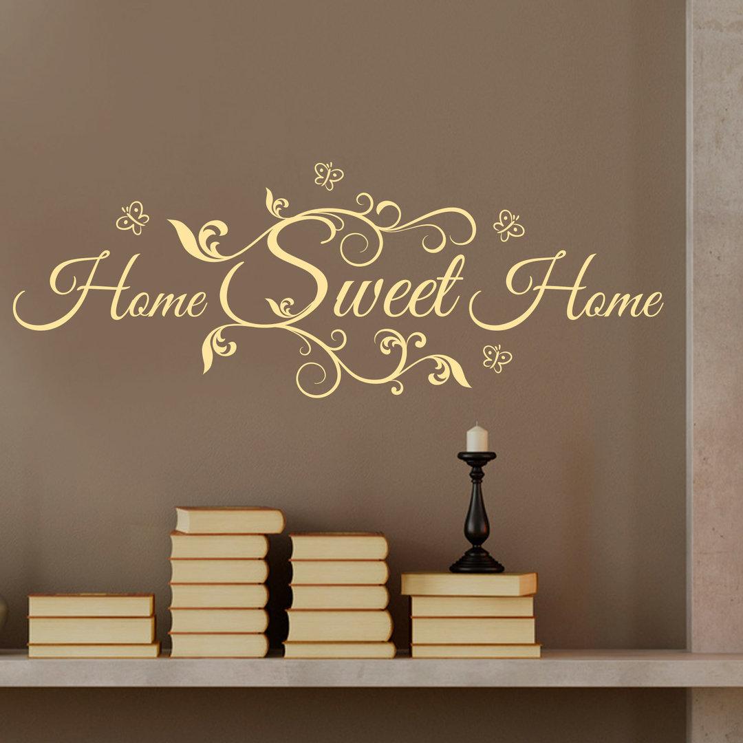 Elegant Wandtattoo Home Sweet Home Galerie Von