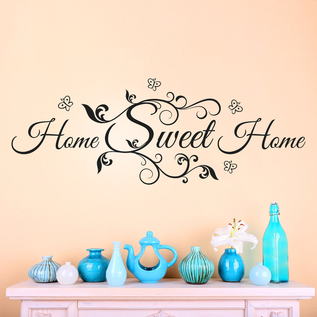 Attraktiv Wandtattoo Home Sweet Home Dekoration Von