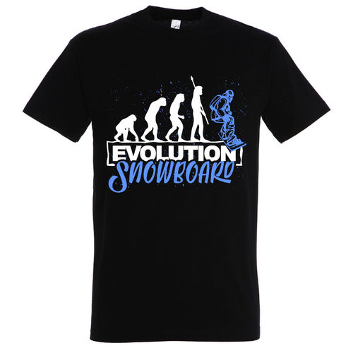 T-Shirt Evolution Snowboard